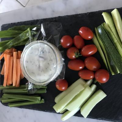 apéritif végétarien